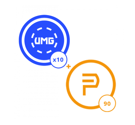 3 Months of Prime Membership and 10 UMG Credits